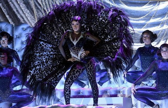 Cardi B Grammys performance costume