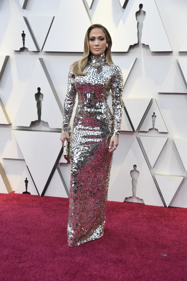 1e9f5546ab1 Jennifer Lopez Is a Knockout in Mirrored Dress With Alex Rodriguez ...
