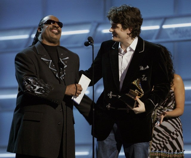Stevie Wonder and John Mayer