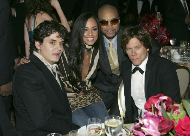 John Mayer, Alicia Keys, Kerry Brothers, Kevin Bacon