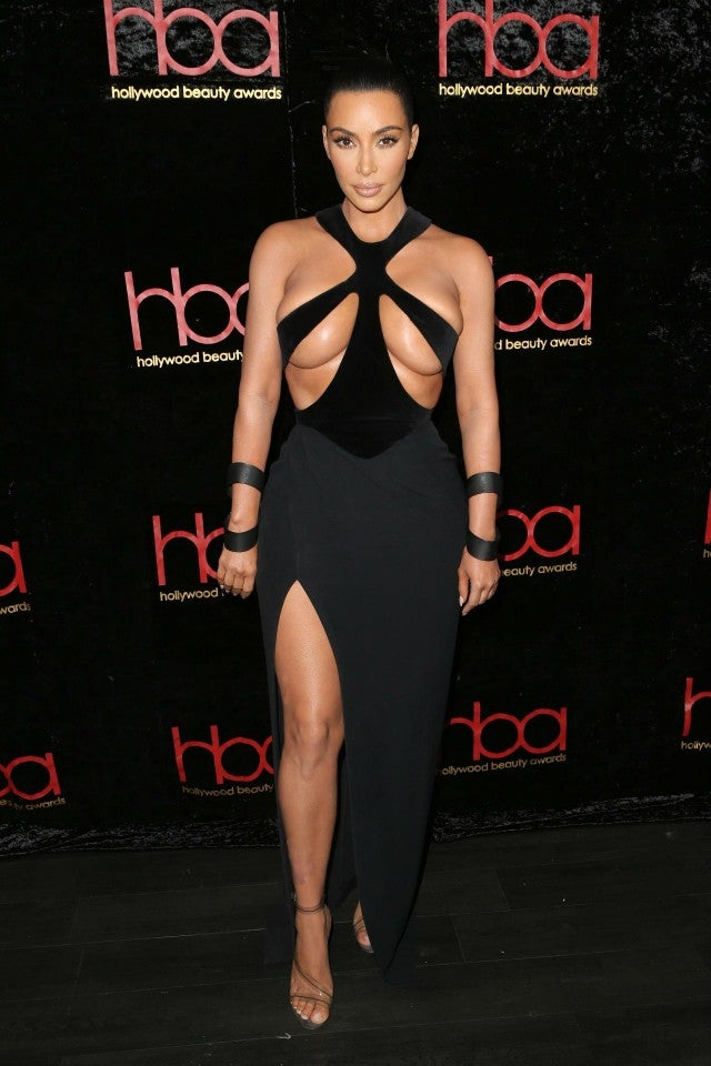 694a0b9361 Kim Kardashian rocks her most revealing look yet  See the sexy ...