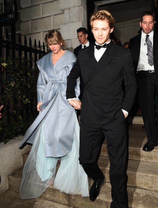 Taylor Swift and Joe Alwyn at baftas after party