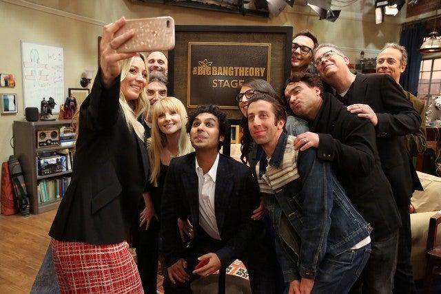 The Big Bang Theory Stage Dedication