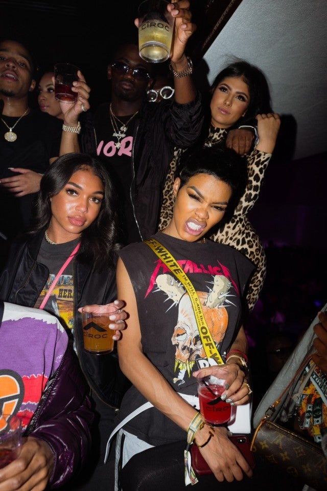 Teyana Taylor superbowl party