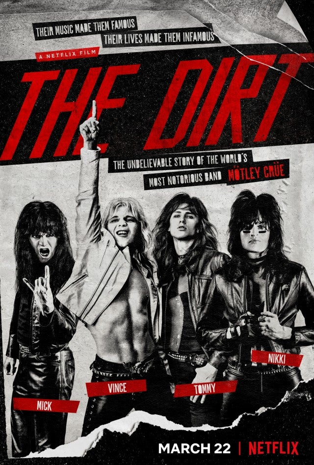 'The Dirt' poster