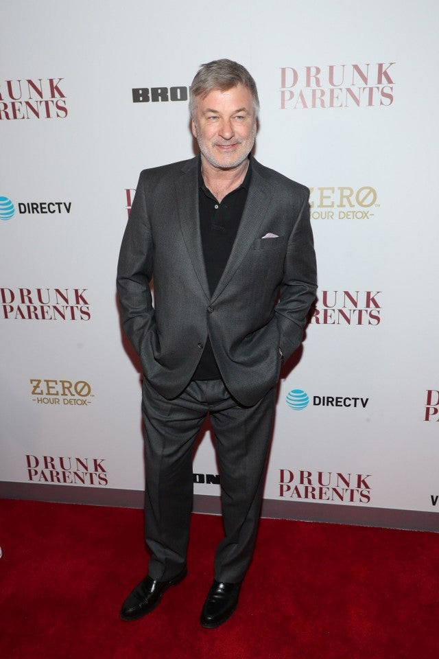 Alec Baldwin premiere of Drunk Parents