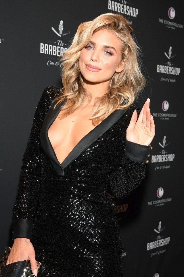 AnnaLynne McCord opening The Barbershop Cuts & Cocktails