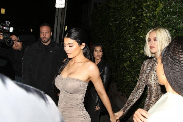 362593af1da Khloe Kardashian Has a Night Out With Kylie Jenner and Sisters ...