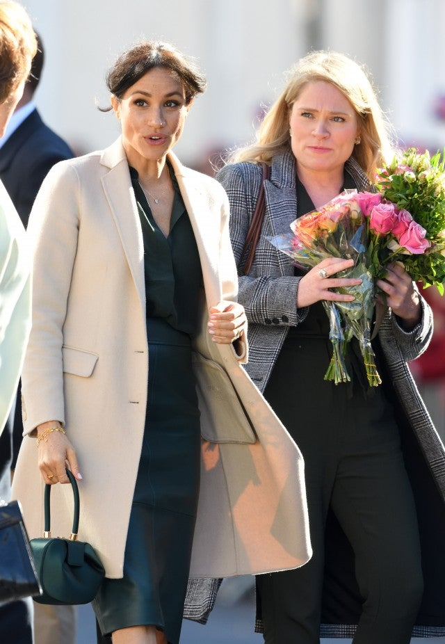 Meghan Markle and Aide Amy Pickerill