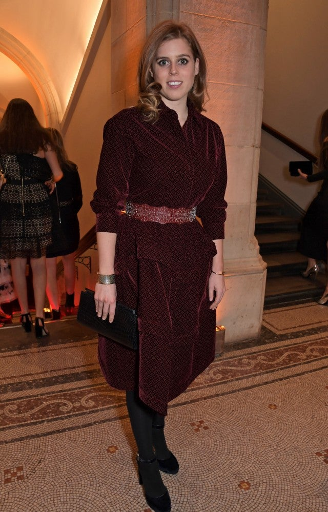 Princess Beatrice of York at National Portrait Gallery Gala
