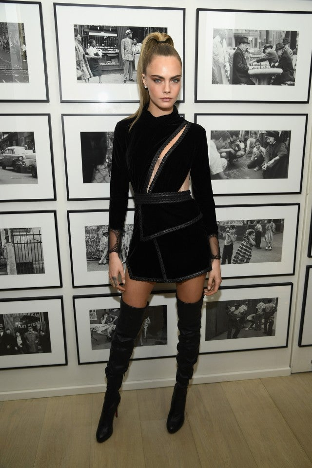 Cara Delevingne at Times Square Edition Hotel