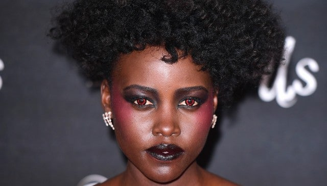 Lupita Nyong'O Red Contacts