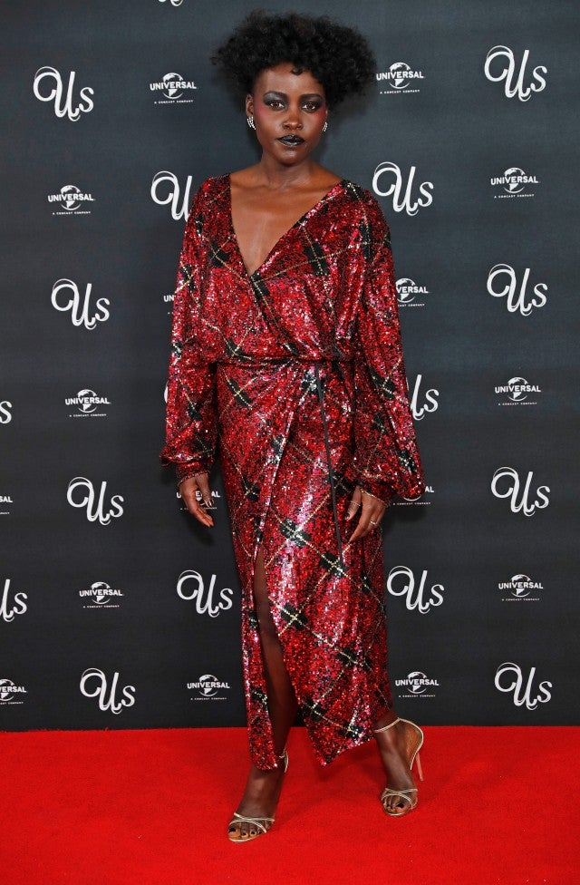 Lupita Nyong'o London Us Premiere