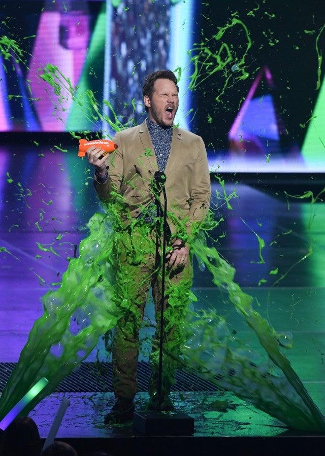 Chris Pratt Kids Choice Awards 2019
