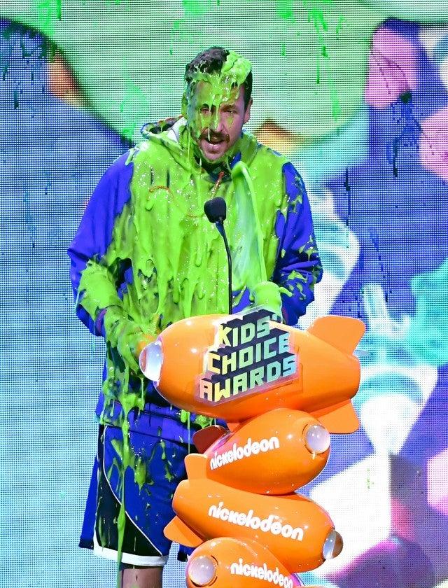Adam Sandler 2019 Kids Choice Awards