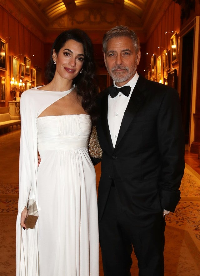 Amal & George Clooney at The Prince's Trust dinner