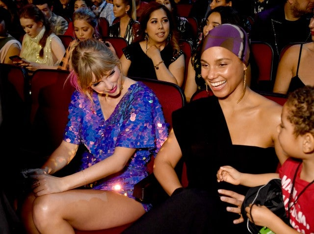 Taylor Swift and Alicia Keys