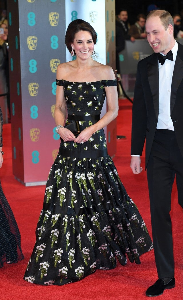 Kate Middleton at 2017 BAFTAs