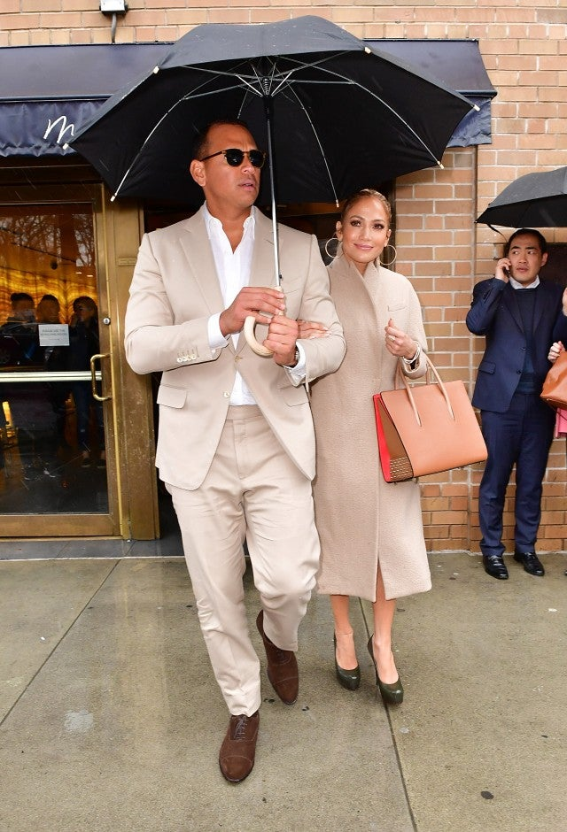 Alex Rodriguez and Jennifer Lopez March 2017