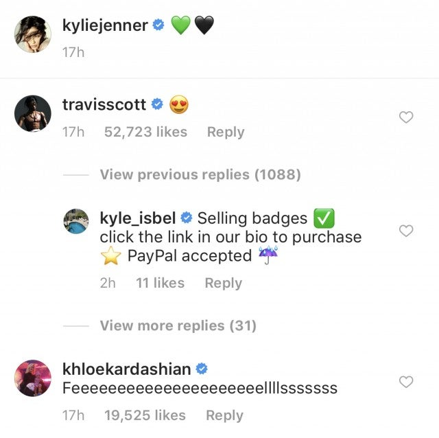 Travis Scott Comment