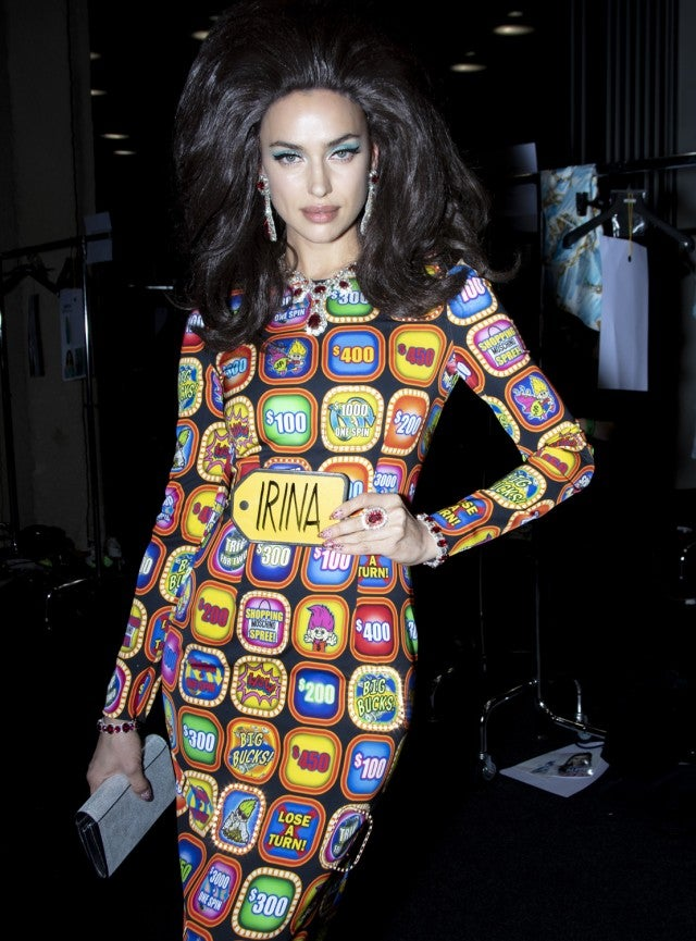 Irina Shayk Good Luck Trolls X Moschino