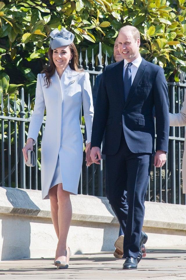 Kate Middleton Prince William Easter
