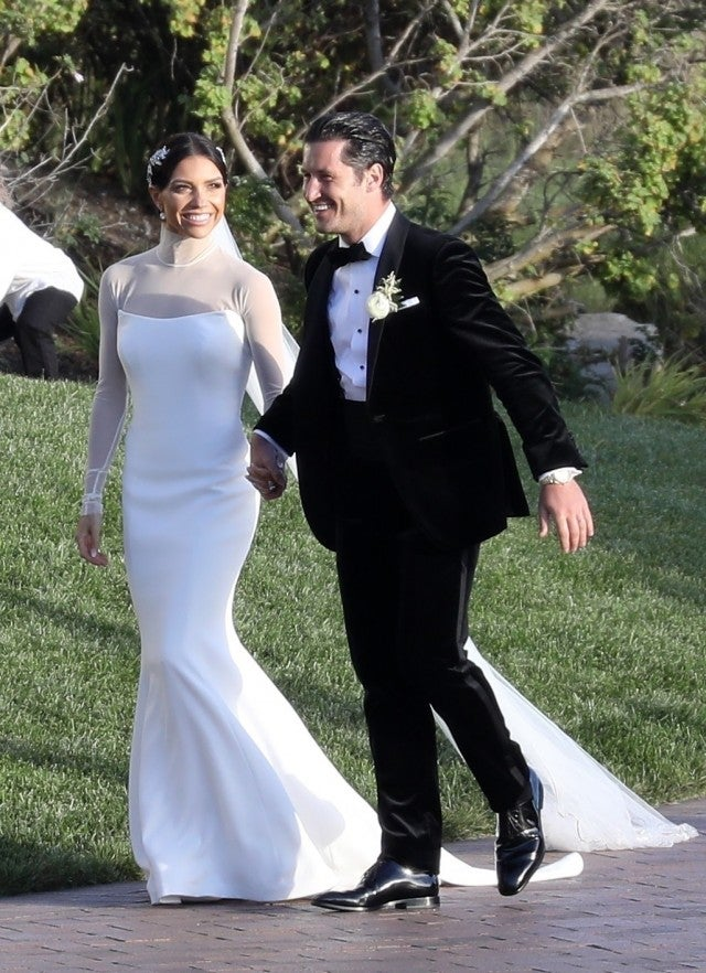 Val Chmerkovskiy and Jenna Johnson Wedding Day