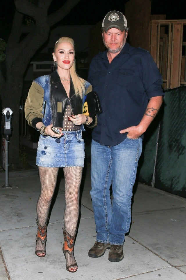 Gwen Stefani And Blake Shelton Have A Date Night In
