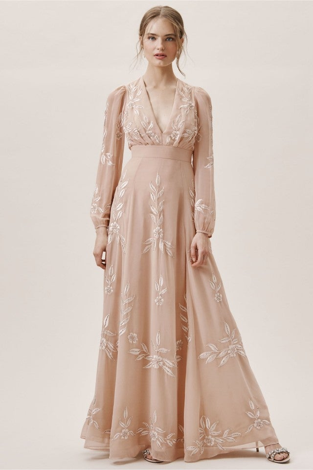 3913c907c4 BHLDN pink belize wedding dress
