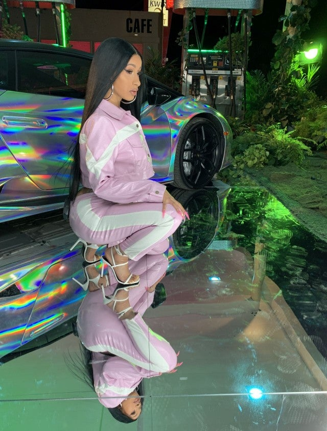 Cardi B Clean: Cardi B Takes ET Behind The Scenes Of Her Sexy New