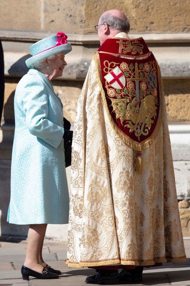 Queen Elizabeth Easter