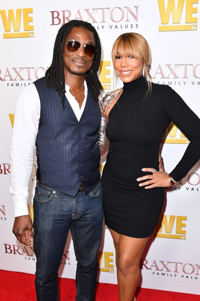 David Adefeso and Tamar Braxton Braxton Family Values Premiere