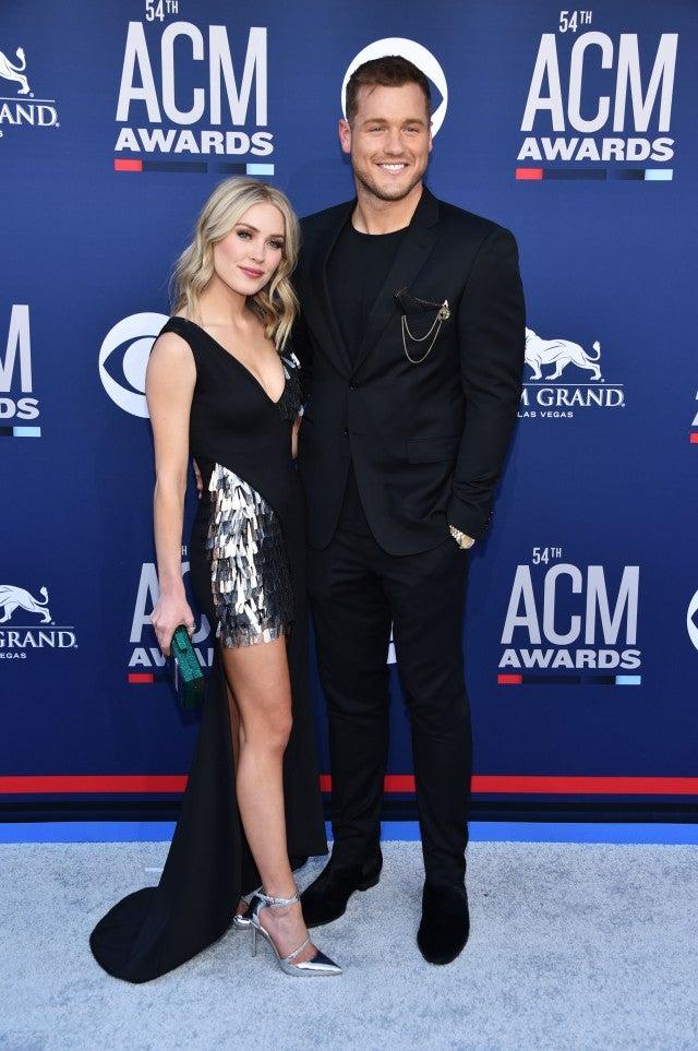 a29e16e41bc 2019 ACM Awards: 'Bachelor' Alumni Colton Underwood and Cassie ...