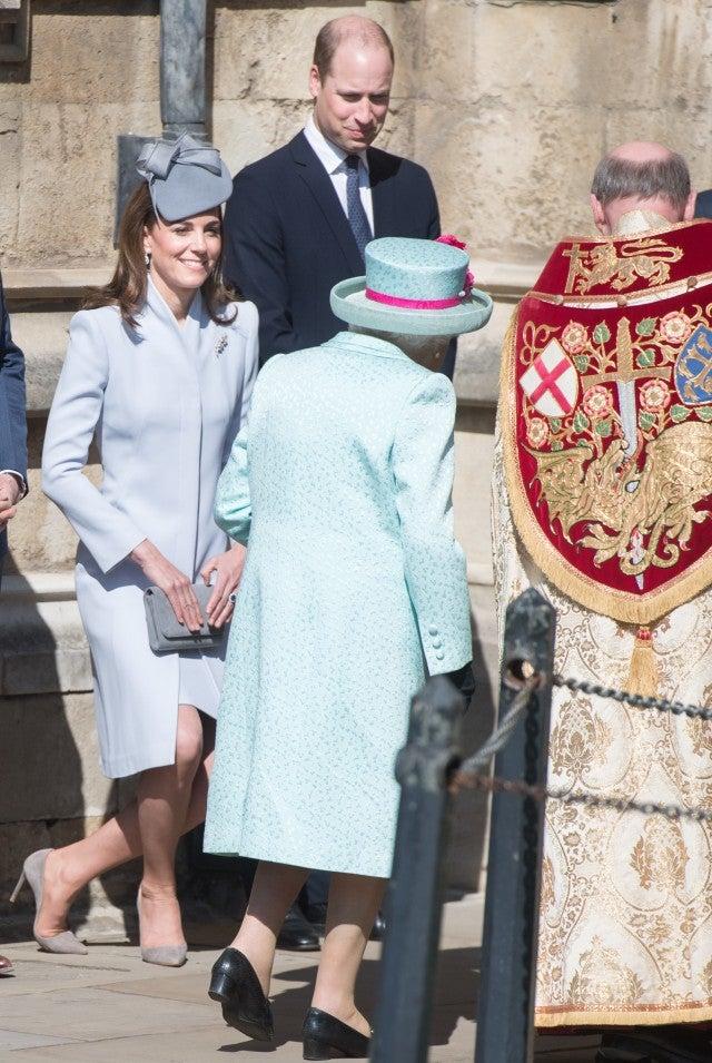 Queen Elizabeth Kate Middleton Prince William