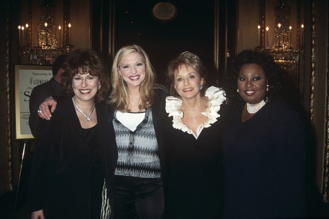 Joy Behar, Debbie Matenopoulos, Barbara Walters, and Star Jones
