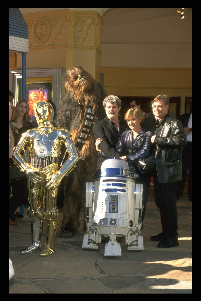 Star Wars, Carrie Fisher, George Lucas, Mark Hammil