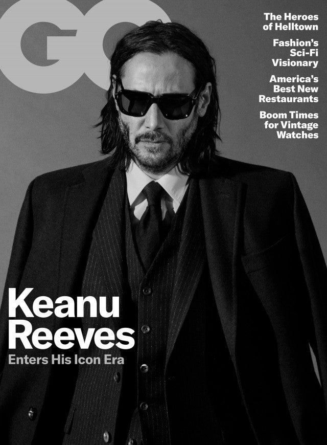 Keanu Reeves GQ