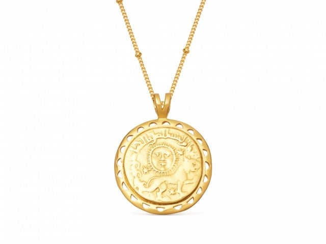 Missoma Lucy Williams rising sun necklace