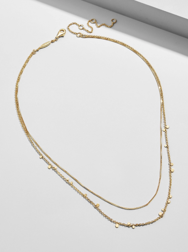 Baublebar layered necklace