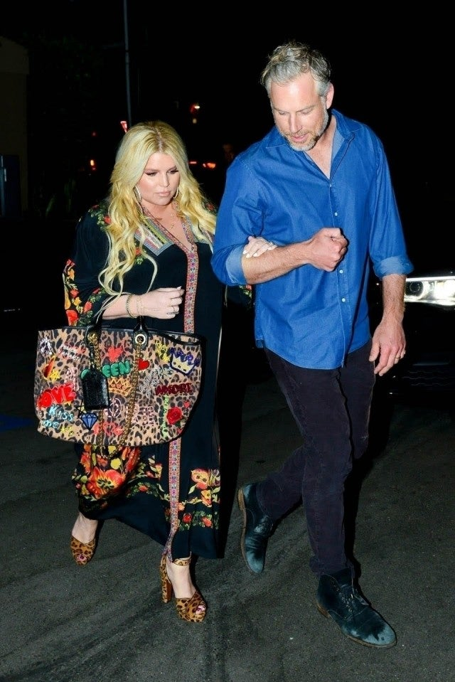Jessica Simpson Spotted On Date Night With Husband 1 Month
