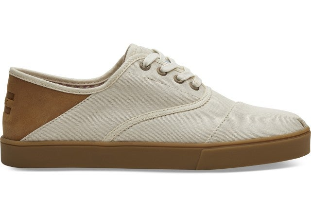 Toms natural twill sneakers
