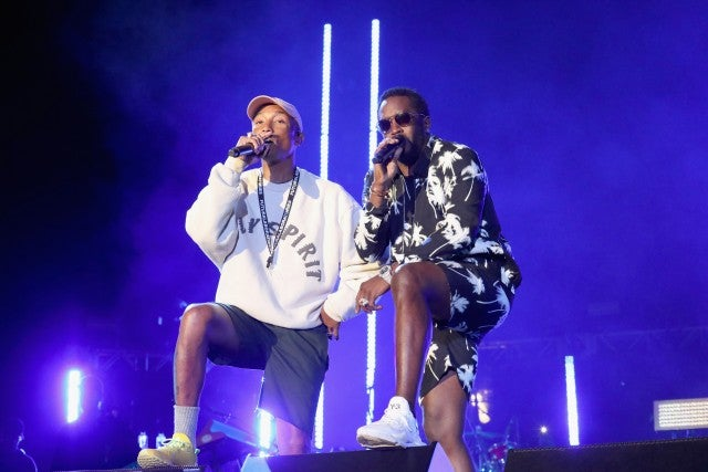 Pharrell Williams, Diddy Something in the Water Fest