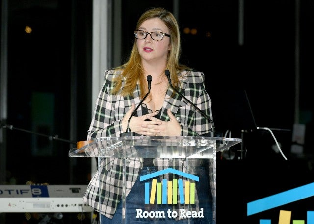 Amber Tamblyn at Room to Read