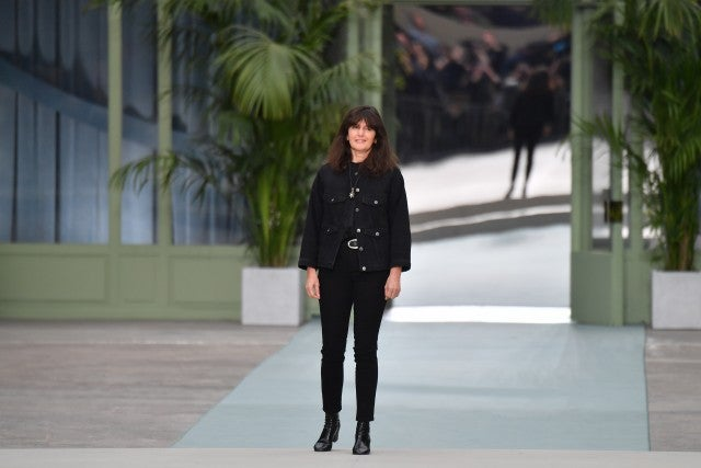 Virginie Viard at Chanel cruise 2020 show