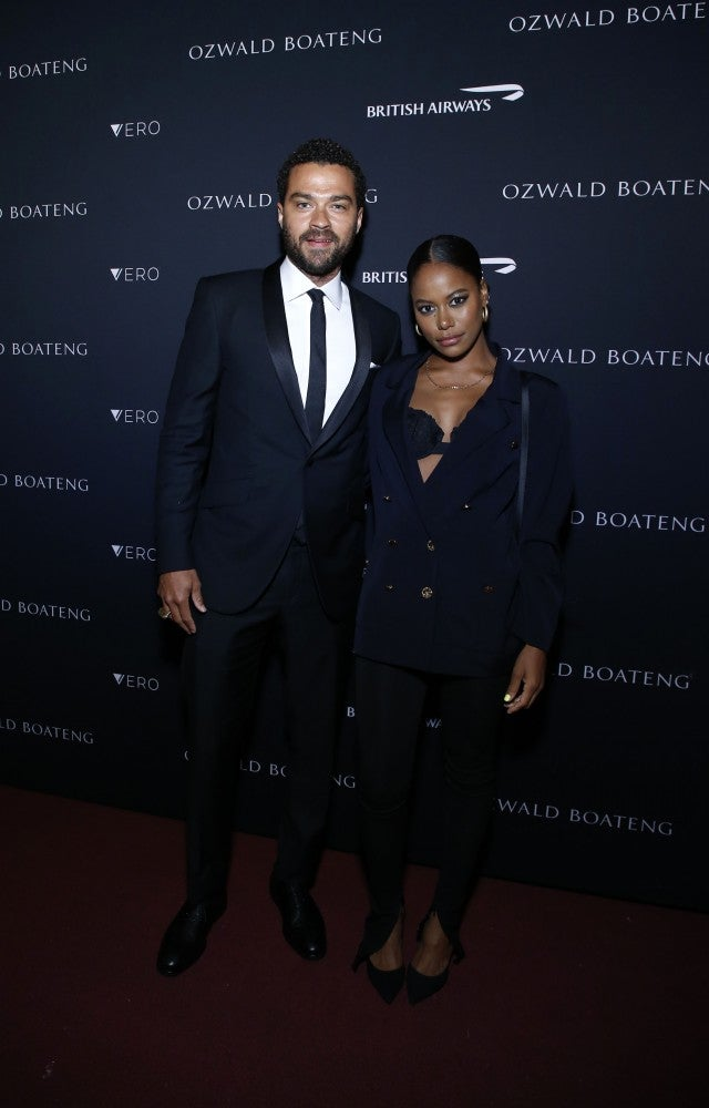 Jesse Williams And Girlfriend Taylour Paige Make Red Carpet