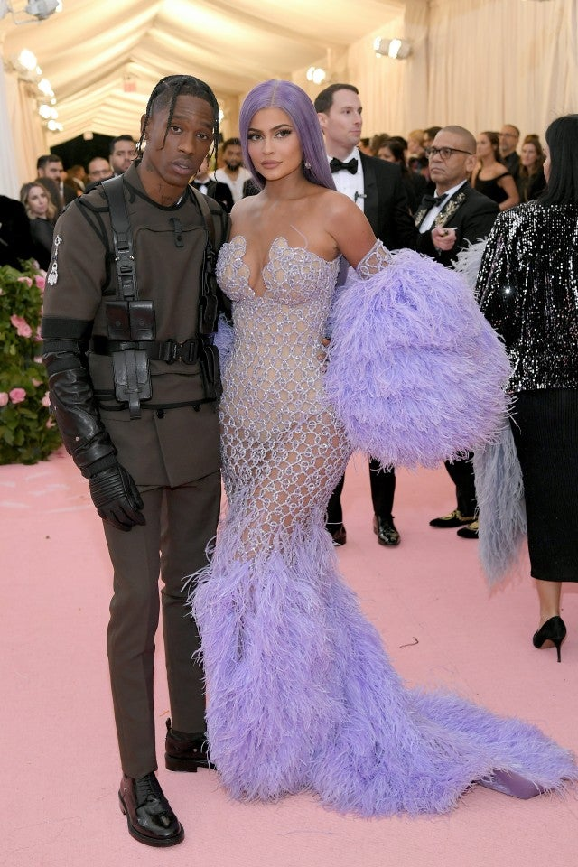 Kylie Jenner and Travis Scott at 2019 Met Gala
