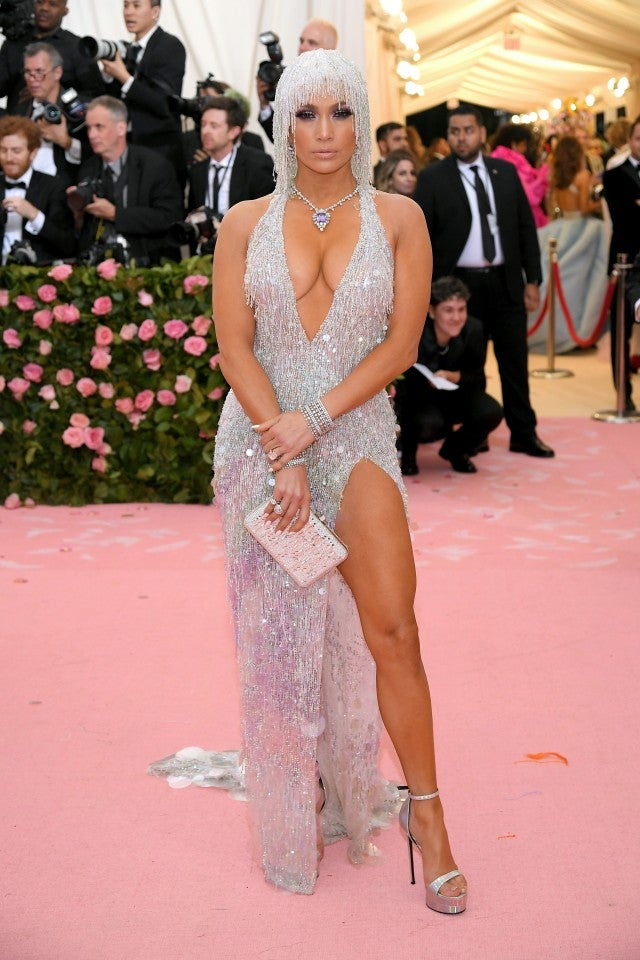 Jennifer Lopez at 2019 met gala