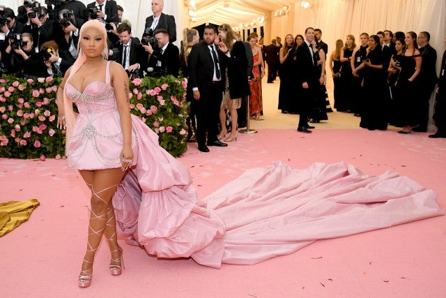 Image result for nicki minaj  met gala 2019
