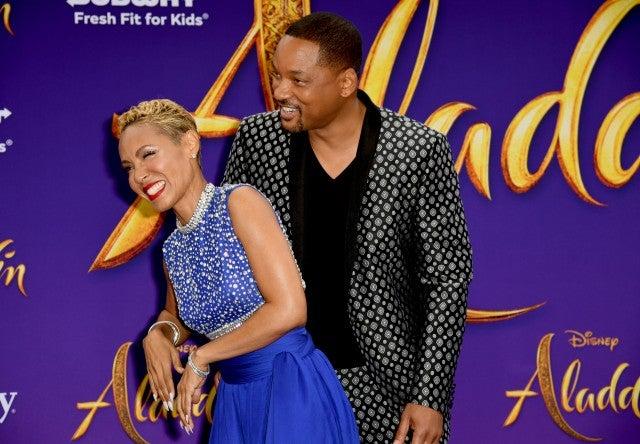 Will Smith Jada Pinkett Smith Aladdin Premiere