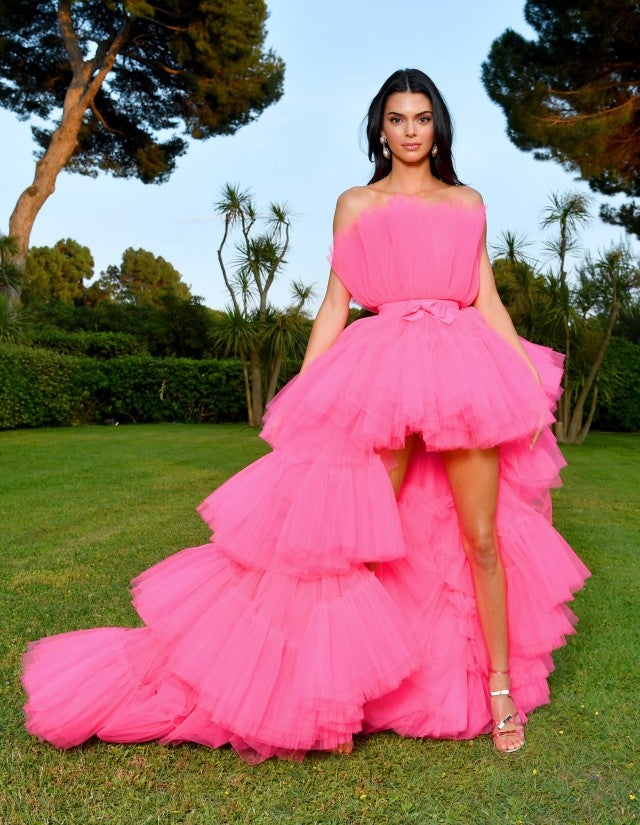 Kendall Jenner S Pink Tulle Cannes Dress Will Be Available To Shop